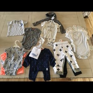 Other - Large Bundle of 6mo baby clothes and accessories
